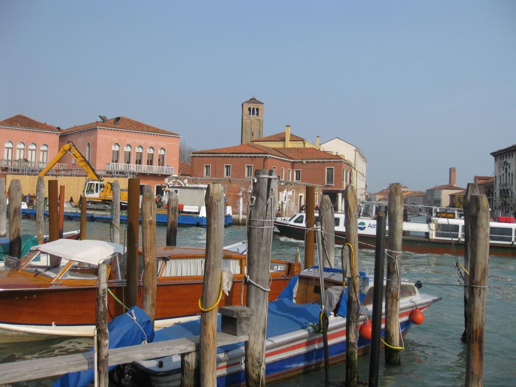Benátky: Přístaviště