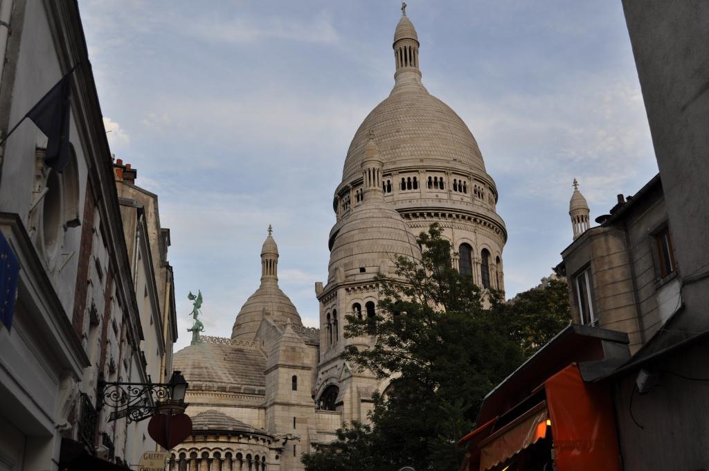 Paříž: Sacre Coeur