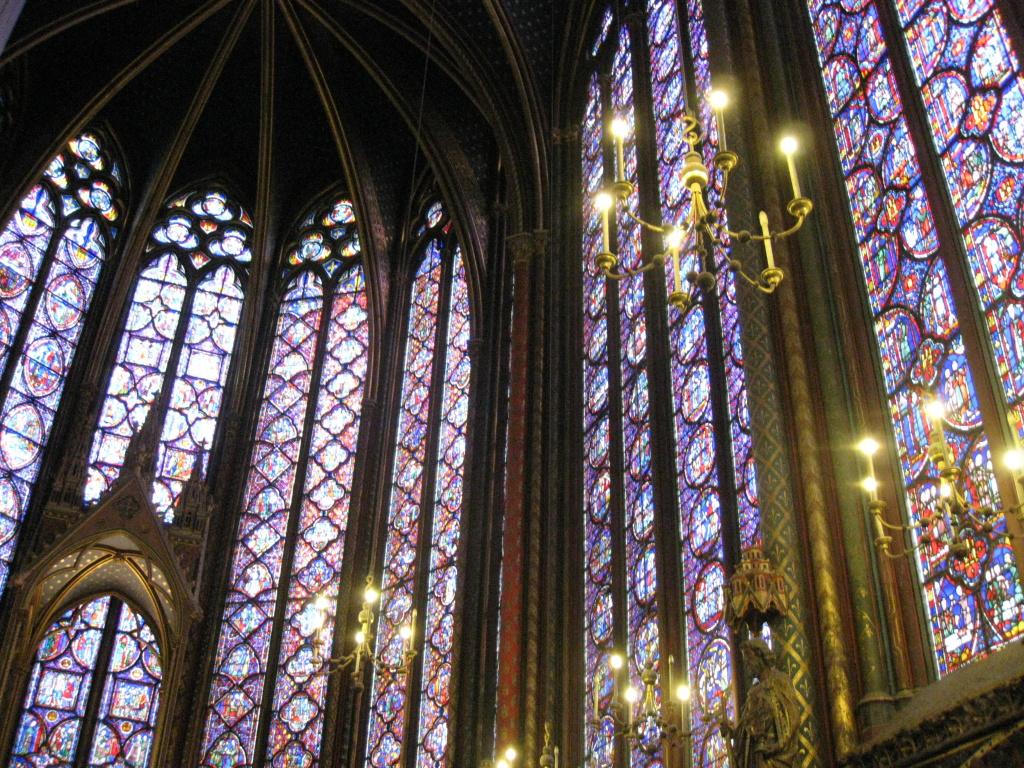 Paříž: Sainte Chapelle