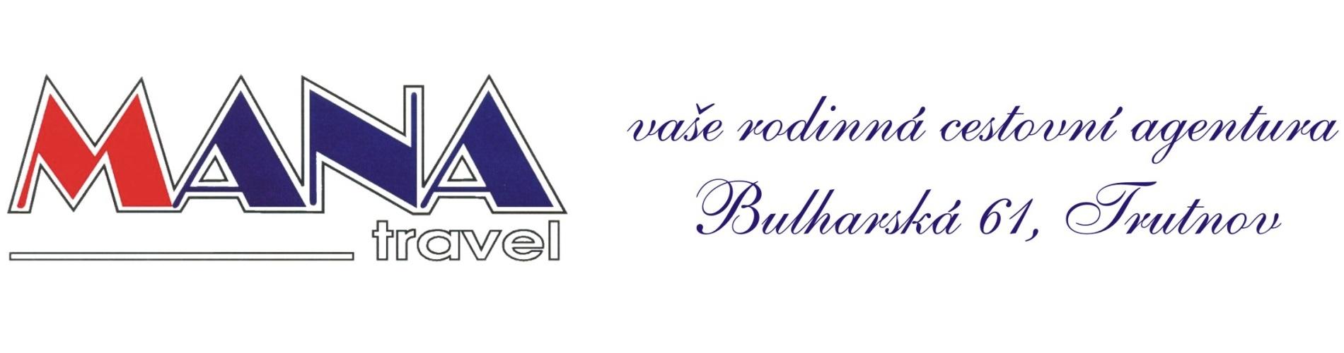MANA travel Trutnov - cestovní agentura