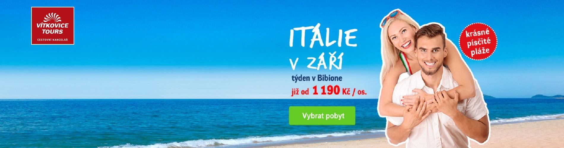 Vítkovice Tours - Bibione v září