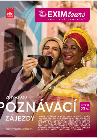 Katalog CK EXIMtours 2020 Poznávací zájezdy