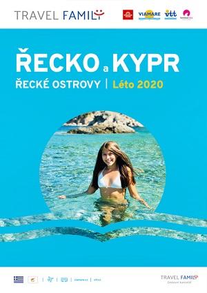 Katalog TRAVEL FAMILY 2020: Řecko a Kypr